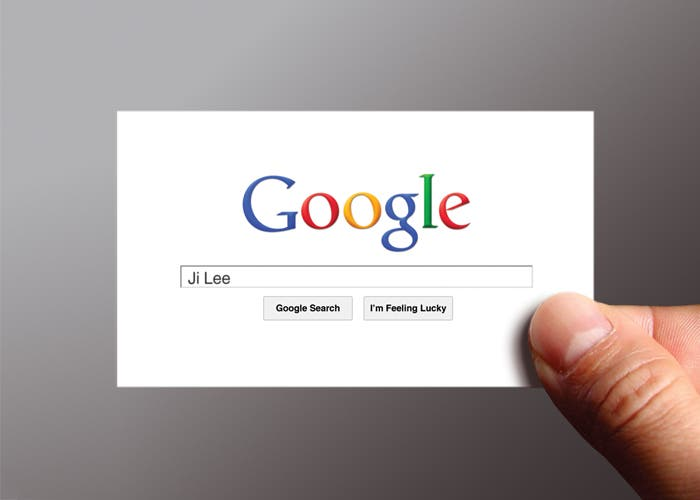 Google Logo tarjeta