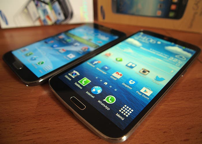 Samsung Galaxy Note II vs Samsung Galaxy Mega