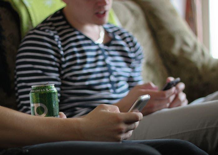 Usando dos smartphones