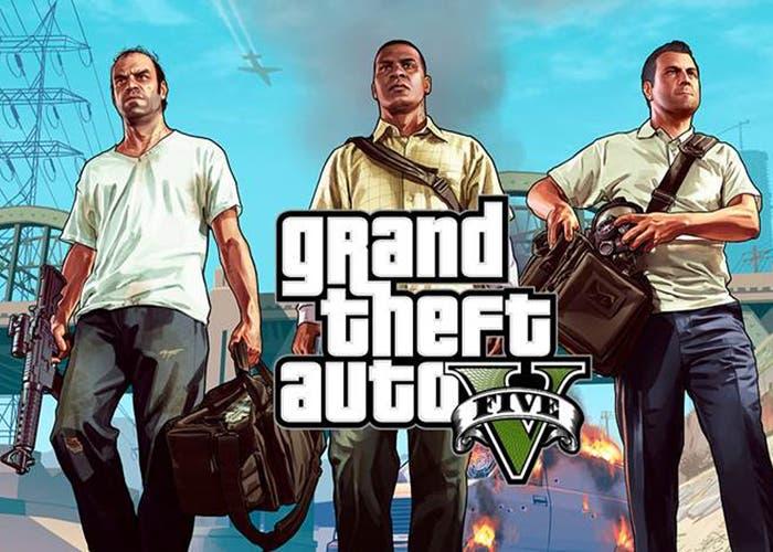 Portada Grand Theft Auto V