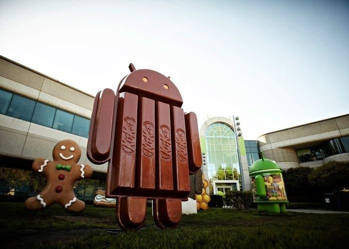 Mascota de Android 4.4 KitKat
