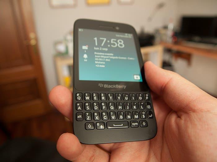 Típico diseño BlackBerry