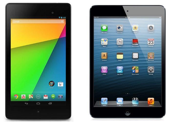 iPad mini y nueva Google Nexus 7