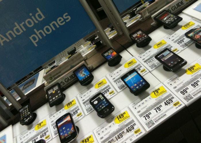 Maquetas de smartphones