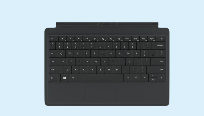 Teclado Surface 2 Touch Cover