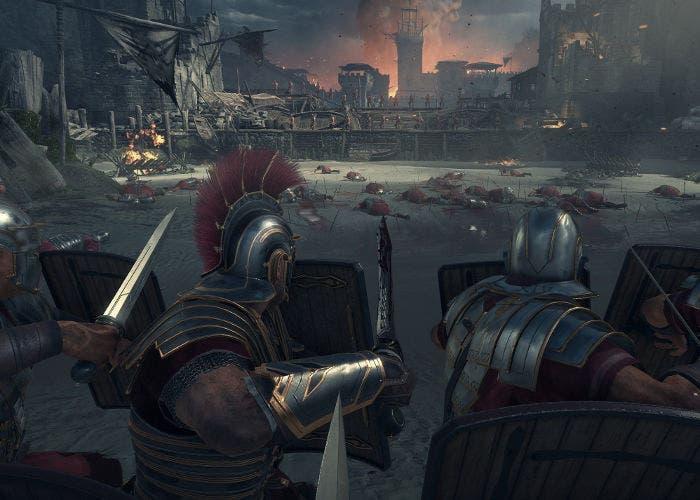 Captura del videojuego Ryse