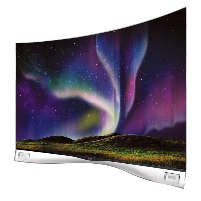 LG TV pantalla curva