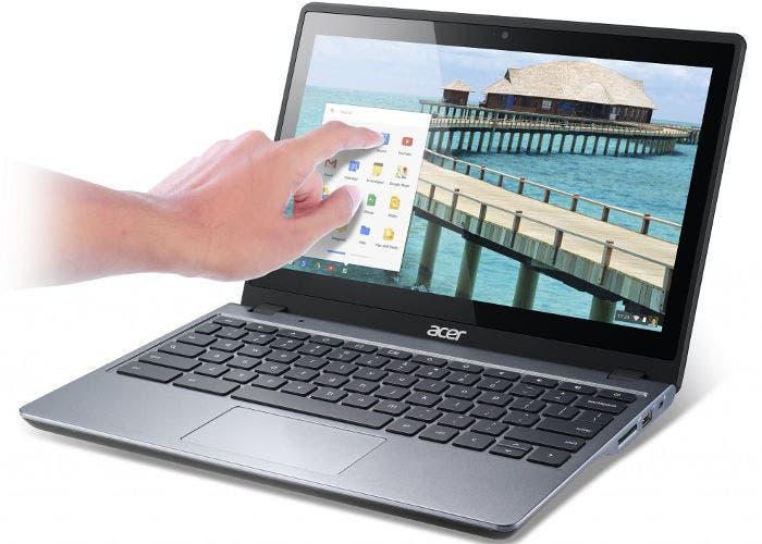 Portátil Acer C720P Chromebook