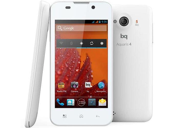 Imagen del smartphone bq Aquaris 4