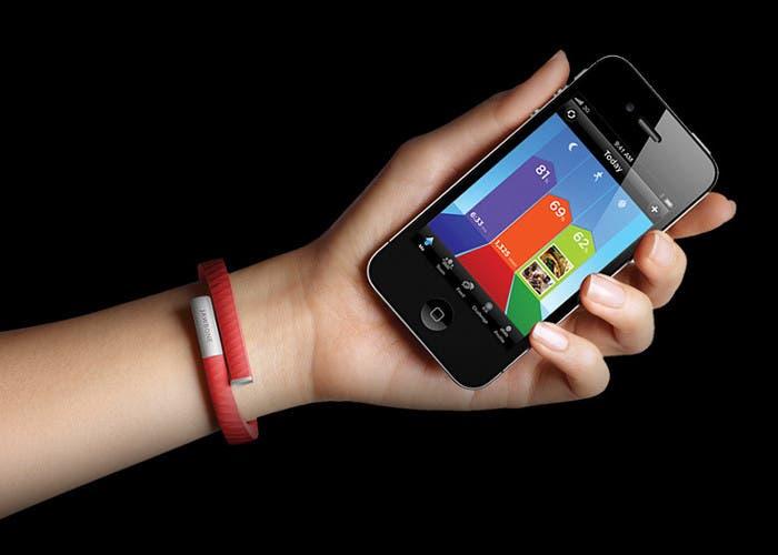 Pulsera y app de Jawbone