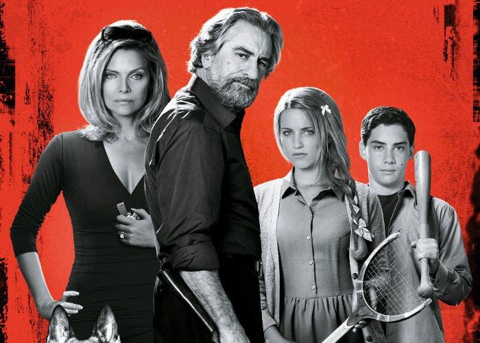 Imagen promocional de la película Malavita