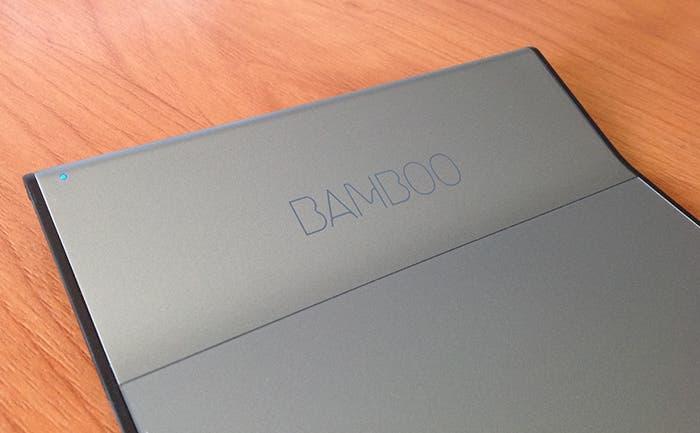 Logo en Wacom Bamboo Pad