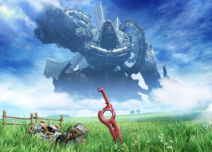Imagen del juego Xenoblade
